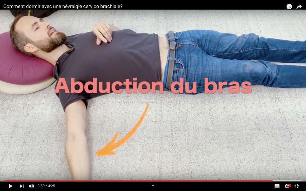 Adduction du bras