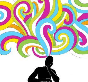 Pensée positive, détente, douleur persistante