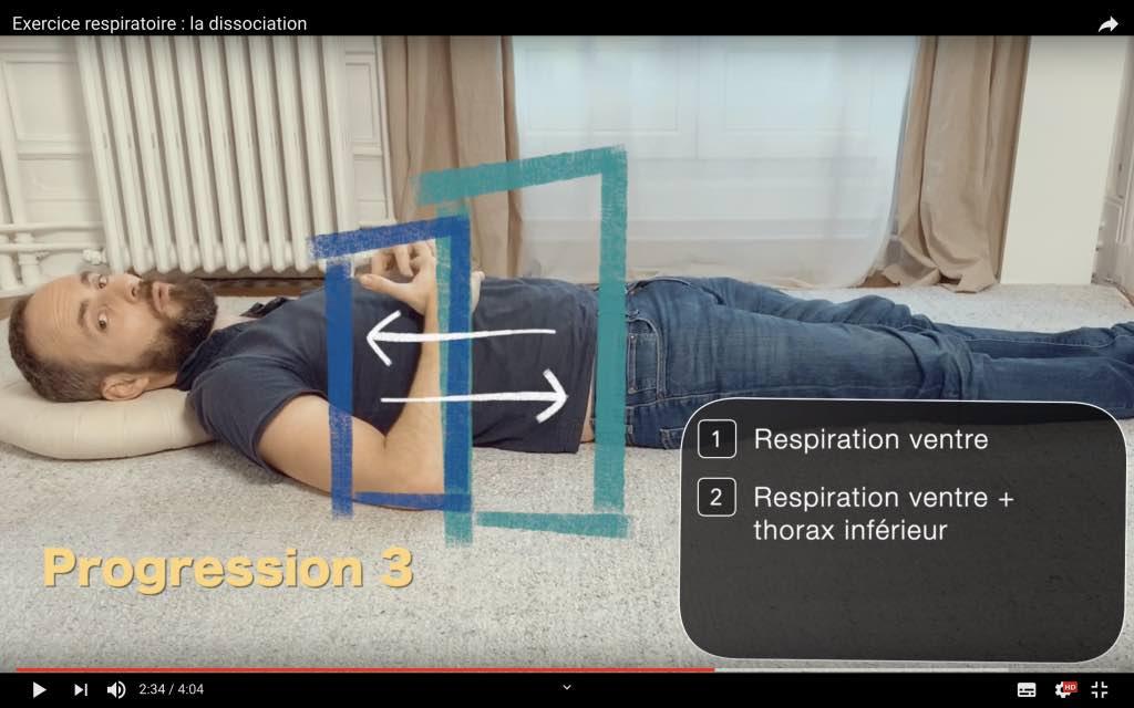 Agir sur la douleur de dos grâce à la respiration