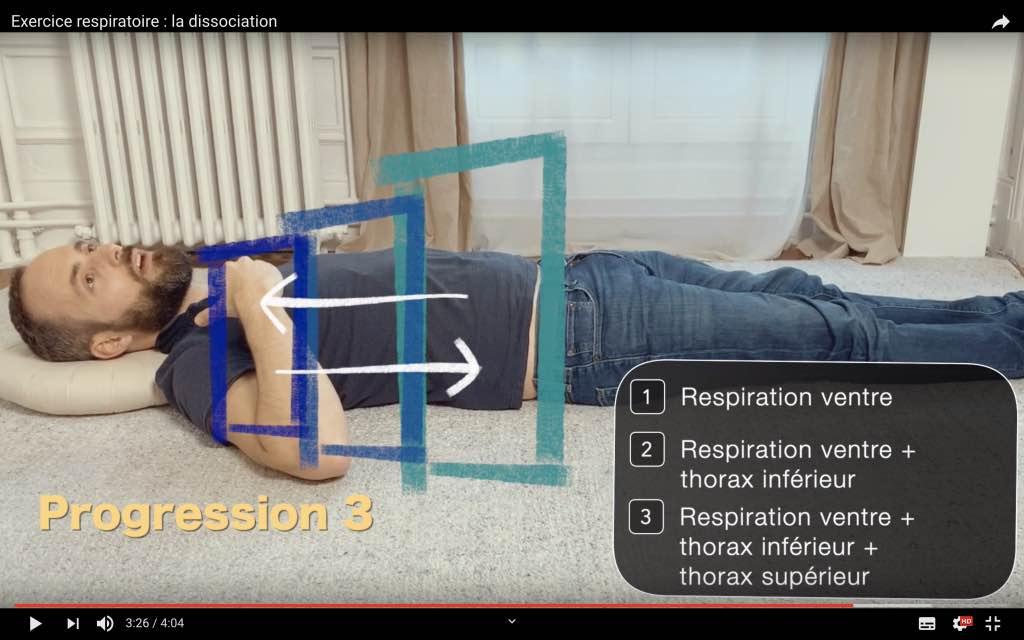 Relaxer le dos avec cet exercice respiratoire