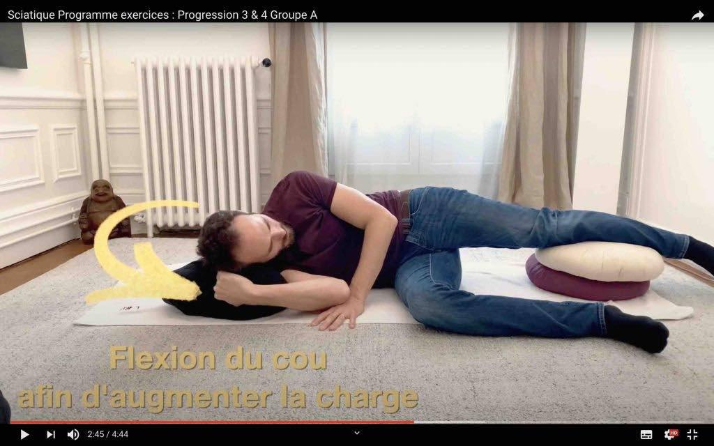 Soulager le nerf sciatique exercice neurodynamique