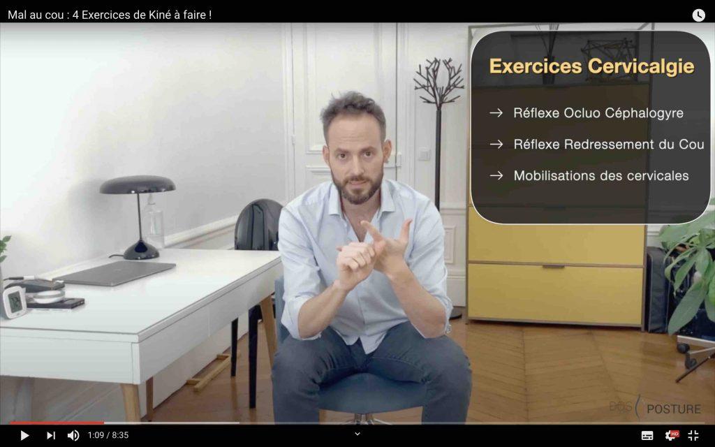 Exercices pour détendre les cervicales
